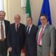 Ambasciata Italiana - da sx: Francesco Di Nisio, Renato Miracco, Carlo De Masi, Massimo Saotta, Gabriele Saotta