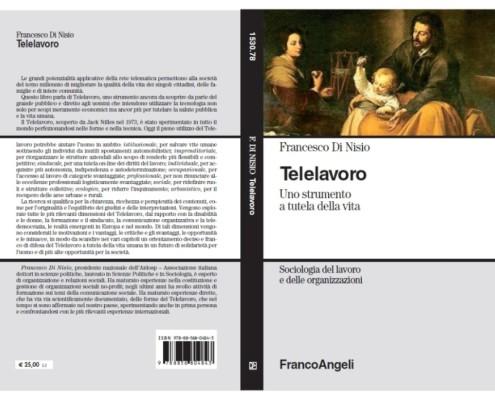 Copertina del libro_Telelavoro, uno strumento a tutela della vita