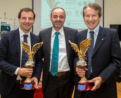 Da sx: Aurelio Capaldi, Francesco Di Nisio, Giulio Terzi