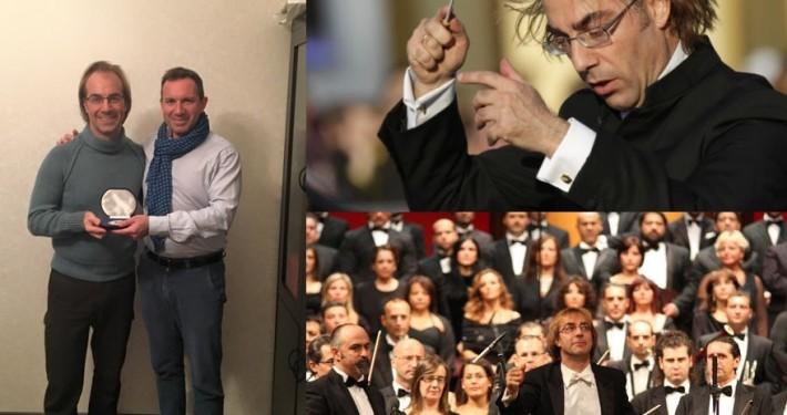 Dott. Attolico e Maestro Mastrangelo in Russia